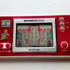 Videojuegos y Consolas: NINTENDO GAME & WATCH - MARIO'S CEMENT FACTORY - (1983) -. Lote 178805496