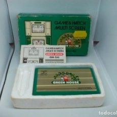 Videojuegos y Consolas: GREEN HOUSE NINTENDO GAME&WATCH. Lote 179006931