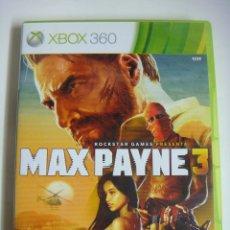 Videojuegos y Consolas: VIDEO JUEGO XBOX 360 2 DISCOS MAX PAYNE 3 CON SU LIBRILLO. Lote 179104626