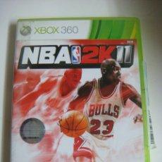 Videojuegos y Consolas: VIDEO JUEGO XBOX 360 NBA 2K11. Lote 179104837