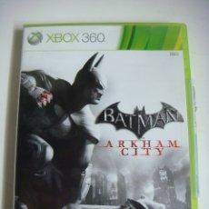 Videojuegos y Consolas: VIDEO JUEGO XBOX 360 BATMAN ARKHAM CITY CON SU LIBRILLO. Lote 179105925