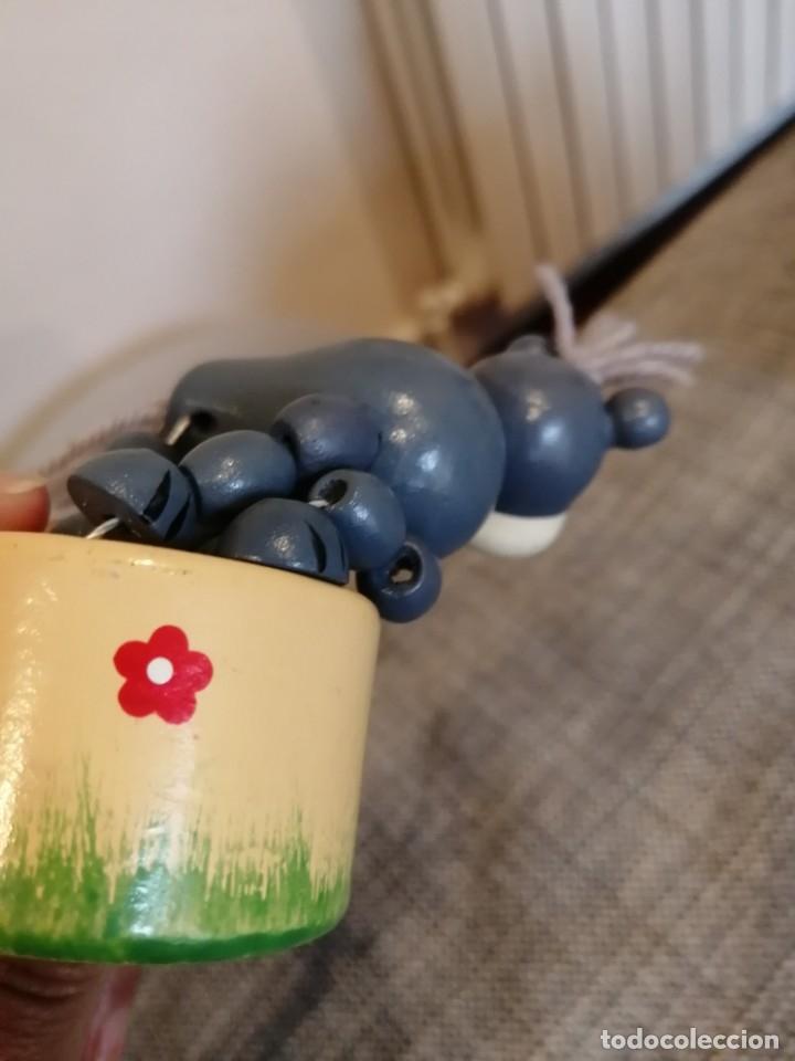 Videojuegos y Consolas: Antiguo juguete articulado de madera Goula - Foto 5 - 179131166