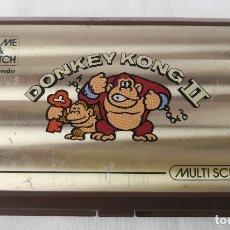 Videojuegos y Consolas: VIDEOCONSOLA. GAME & WATCH. DONKEY KONG II. NINTENDO. MADE IN JAPAN. AÑO 1983.. Lote 179152587
