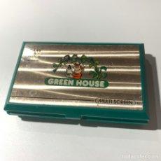 Videojuegos y Consolas: MAQUINITA GAME & WATCH DE NINTENDO AÑOS 80 GREEN HOUSE. Lote 179156108