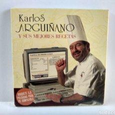 Videojuegos y Consolas: KARLOS ARGUIÑANO Y SUS MEJORES RECETAS EN DISQUETE DE 3,5 PULGADAS. Lote 179964307