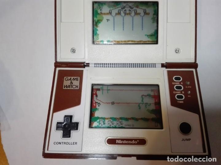 Videojuegos y Consolas: DONKEY KONG II GAME&WATCH DE NINTENDO MULTI SCREEN - Foto 2 - 180017328