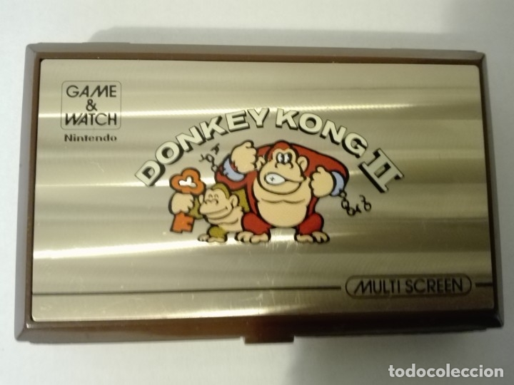 Videojuegos y Consolas: DONKEY KONG II GAME&WATCH DE NINTENDO MULTI SCREEN - Foto 4 - 180017328