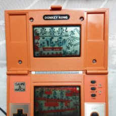 Videojuegos y Consolas: NINTENDO GAME&WATCH DONKEY KONG. Lote 180024335