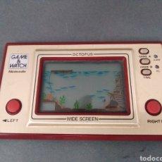 Videojuegos y Consolas: MAQUINITA OCTOPUS GAME & WATCH NINTENDO 1981 FUNCIONA. Lote 180347767