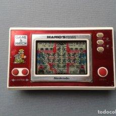 Videojuegos y Consolas: NINTENDO GAME&WATCH WIDESCREEN MARIO´S CEMENT FACTORY ML-102 FILTRO NUEVO VER R9448. Lote 180478913