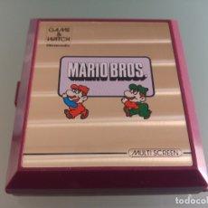 Videojuegos y Consolas: NINTENDO GAME & WATCH MARIO BROS . Lote 181117537