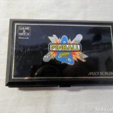 Videojuegos y Consolas: NINTENDO GAME & WATCH, MULTI SCREEN, 1983, PINBALL, BEN ESTADO, FUNCIONA. Lote 181157443