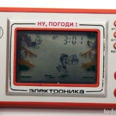 Videojuegos y Consolas: MAQUINITA GAME & WATCH - RUSA - NO POGODI! - EGGS - FUNCIONADO CORRECTAMENTE - 1980. Lote 181220623