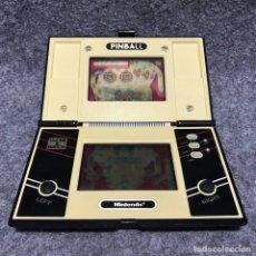 Videojuegos y Consolas: CONSOLA NINTENDO GAME AND WATCH PINBALL. Lote 181232853