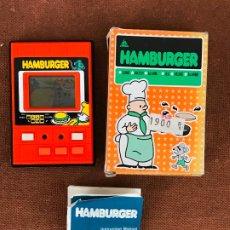 Videojuegos y Consolas: MAQUINITA LCD TIPO GAME & WATCH HAMBURGER - LIWACO. Lote 181617993