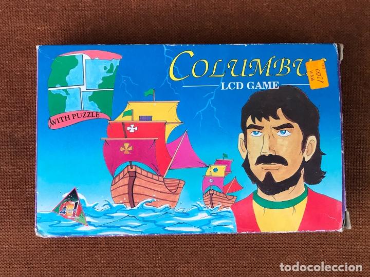 Videojuegos y Consolas: Maquinita LCD tipo Game & watch + puzzle - Columbus - Foto 2 - 181618313