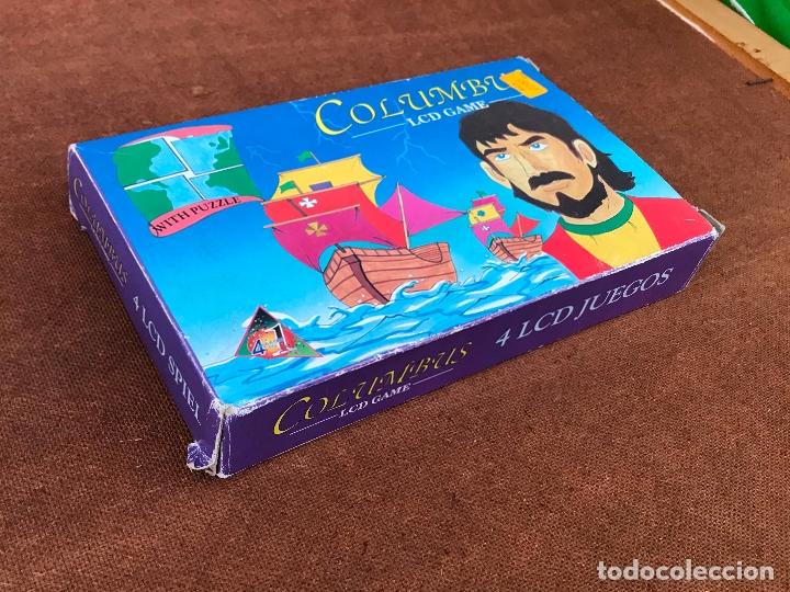 Videojuegos y Consolas: Maquinita LCD tipo Game & watch + puzzle - Columbus - Foto 3 - 181618313