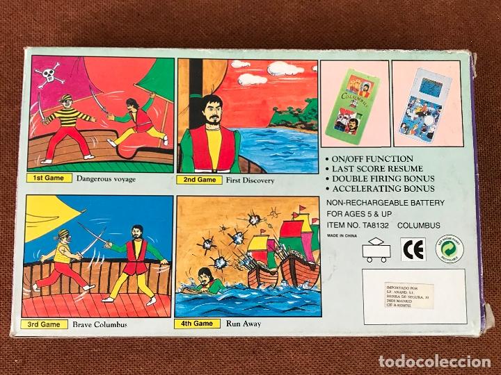 Videojuegos y Consolas: Maquinita LCD tipo Game & watch + puzzle - Columbus - Foto 4 - 181618313