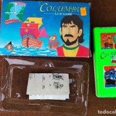 Videojuegos y Consolas: MAQUINITA LCD TIPO GAME & WATCH + PUZZLE - COLUMBUS . Lote 181618313