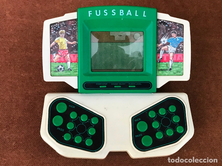 MAQUINITA LCD TIPO GAME & WATCH - FUSSBALL (Juguetes - Videojuegos y Consolas - Otros descatalogados)