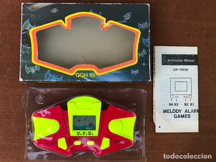 MAQUINITA LCD TIPO GAME & WATCH - UFO - U.F.O. (Juguetes - Videojuegos y Consolas - Otros descatalogados)