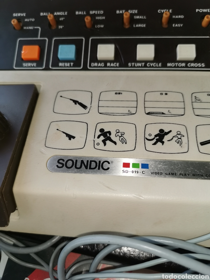 Videojuegos y Consolas: Videoconsola soundic SD-019-c.años 70 - Foto 2 - 181715675