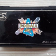 Videojuegos y Consolas: GAME WATCH - PINBALL - NINTENDO - MULTI SCREEN - 1983. Lote 182026508