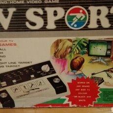 Videojuegos y Consolas: CONSOLA VIDEO GAME, AÑOS 60. CON CAJA, CONEXIONES Y RIFLE.. Lote 182092158