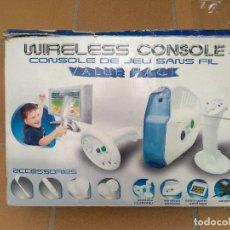 Videojuegos y Consolas: CONSOLA ANTIGUA FUNCIONANDO Y COMPLETA. Lote 182094607