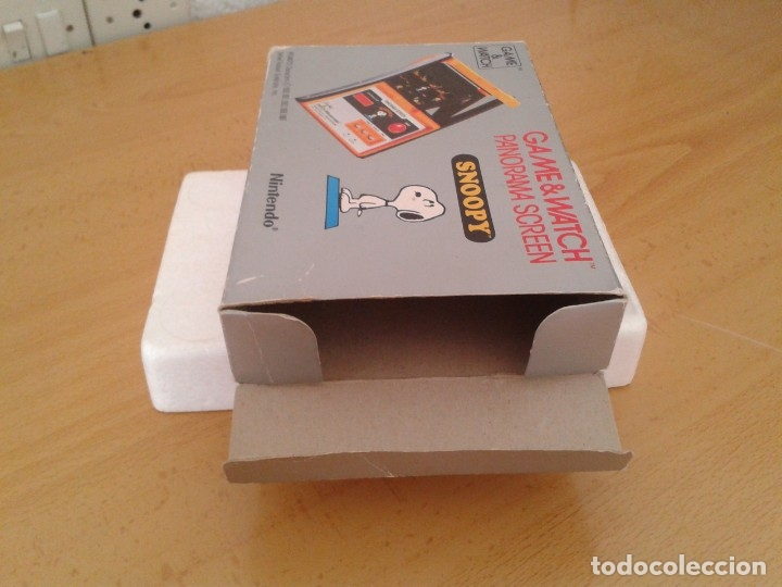 Videojuegos y Consolas: NINTENDO GAME&WATCH PANORAMA SNOOPY SM-91 CAJA COMPLETA BOX&FOAM VER NEAR MINT R9579 - Foto 3 - 182166773