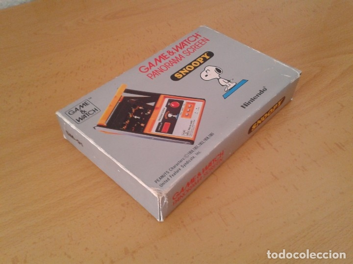 Videojuegos y Consolas: NINTENDO GAME&WATCH PANORAMA SNOOPY SM-91 CAJA COMPLETA BOX&FOAM VER NEAR MINT R9579 - Foto 5 - 182166773