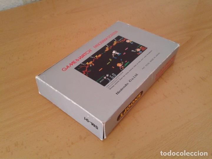 Videojuegos y Consolas: NINTENDO GAME&WATCH PANORAMA SNOOPY SM-91 CAJA COMPLETA BOX&FOAM VER NEAR MINT R9579 - Foto 7 - 182166773