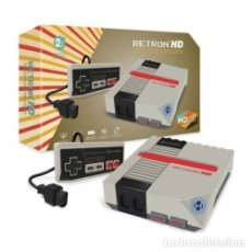 Videojuegos y Consolas: CONSOLA RETRON 1 HD GRIS NUEVA NEW COMPATIBLE NES HDMI. Lote 182224750