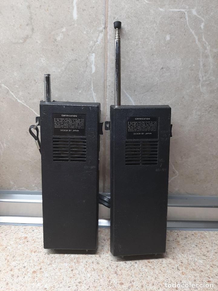 Videojuegos y Consolas: PAREJA DE WALKIE TALKIE TRANSCEIVER MASCOT * FUNCIONANDO * - Foto 4 - 182230185