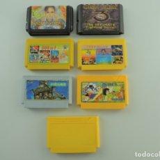 Videojuegos y Consolas: LOTE DE VÍDEO JUEGOS DE CONSOLA AÑOS 80-90. Lote 182272086