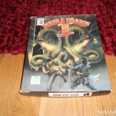 Videojuegos y Consolas: DOUBLE DRAGON III PC 3 JUEGO COKTEL VISION 1988 DRO ESPAÑA. Lote 182276525