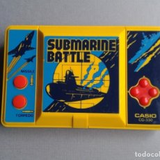 Videojuegos y Consolas: CASIO GAME&WATCH LCD SUBMARINE BATTLE CG-330 GOOD CONDITION FULL WORKING SEE!! R9591. Lote 182377591