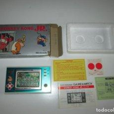 Videojuegos y Consolas: NINTENDO GAME & WATCH ~ DONKEY KONG JR. (DJ-101) ~ 1982 ~ MUY BUEN ESTADO!. Lote 182483885