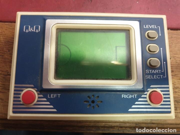 MAQUINITA TIPO GAME &WATCH Q&Q LCD MADE IN JAPAN (Juguetes - Videojuegos y Consolas - Otros descatalogados)