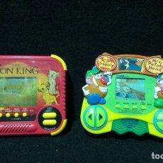 Videojuegos y Consolas: LOTE 2 VIDEOJUEGOS - TIGER - REY LEON Y MR . POTATO. Lote 182782542