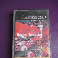 Videojuegos y Consolas: LASER 2001 HOME COMPUTER - SONIC INVADER - VIDEOJUEGO 80'S - DIRIA Q SIN ESTRENAR. Lote 182823313