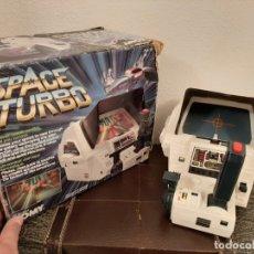 Videojuegos y Consolas: ANTIGUA MAQUINITA TABLETOP DE TOMY SPACE TURBO EN CAJA JUEGO JUGUETE VIDEOJUEGO . Lote 182907526