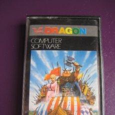 Videojuegos y Consolas: VIKING - DRAGON SOFTWARE - VIDEOJUEGO 80'S - DESPERFECTO EN EL PAPEL DE LA CASETE, VER FOTO. Lote 182910895