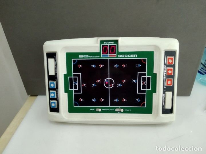 Videojuegos y Consolas: ANTIGUA MAQUINITA TIPO GAME WATCH TOMY MADE IN JAPAN SOCCER FUNCIONANDO - Foto 4 - 183253468