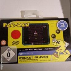 Videojuegos y Consolas: MY ARCADE - PAC-MAN POCKET PLAYER PORTABLE GAMING SYSTEM TIPO GAME & WATCH. Lote 183494316