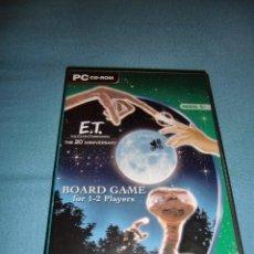 Videojuegos y Consolas: RAREZA - JUEGO E.T. EL EXTRATERRESTRE THE 20 ANNIVERSARY BOARD GAME PARA PC. Lote 183572486