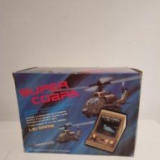 Videojuegos y Consolas: GAME & WATCH SUPER COBRA LSI GAME EN CAJA ORIGINAL Y CON INSTRUCCIONES NUEVA AÑOS 80 MAQUINITA. Lote 183586266