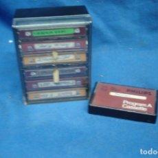 Videojuegos y Consolas: MINI CINTAS/ CASSETTES CON DOCUMENTACIÓN - 7 UNIDADES MÁS CAJA. Lote 183733348