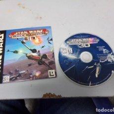 Videojuegos y Consolas: JUEGO PC STAR WARS ROGUE SQUADRON 3D. Lote 183782645