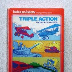 Videojuegos y Consolas: TRIPLE ACTION.MATTEL INTELLIVISION. Lote 183990747